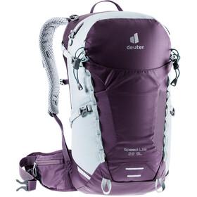 deuter Speed Lite 22 SL Backpack Women, violet/grijs
